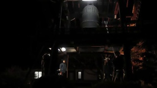 興禅寺・除夜の鐘つき(3)