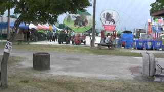 羽黒の夏祭り1・会場・するすみふれあい広場