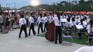 羽黒の夏祭り8・吹奏楽演奏・南部中吹奏楽部