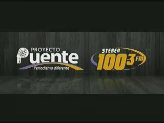 PROYECTO PUENTE STEREO 100.3 MARTES 25 DE NOVIEMBRE, 2014