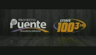 PROYECTO PUENTE STEREO 100.3 JUEVES 8 DE OCTUBRE, 2015, PARTE 1