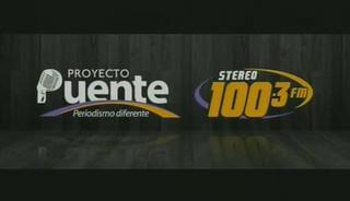 PROYECTO PUENTE STEREO 100.3 JUEVES 19 DE NOVIEMBRE, 2015 ,PARTE 1