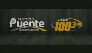 PROYECTO PUENTE STEREO 100.3 VIERNES 20 DE NOVIEMBRE, 2015, PARTE 1